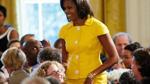 Styleline: Michelle Obama Slides Down the Ranks | StyleCaster