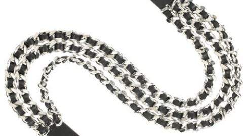 Balmain Triple Strand Belt | StyleCaster