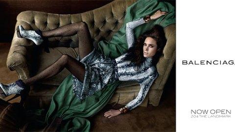 Jennifer Connelly for Balenciaga | StyleCaster