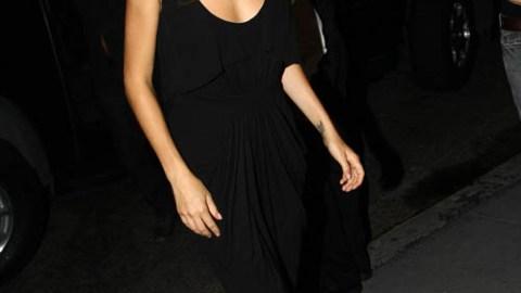 Sienna Miller Wears Jumpsuit to Waverly Inn | StyleCaster