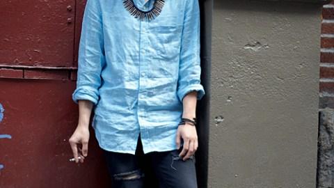Street Style: New York – Chenta Yu | StyleCaster