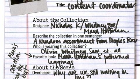 Fashion Week Report Card: Nicholas K,Whitney Eve, and Mara Hoffman | StyleCaster