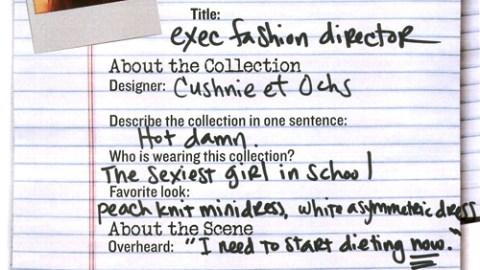 NY Fashion Week 09: Cushnie et Ochs | StyleCaster