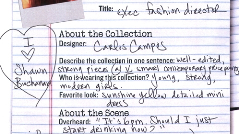 NY Fashion Week 09: Carlos Campos | StyleCaster