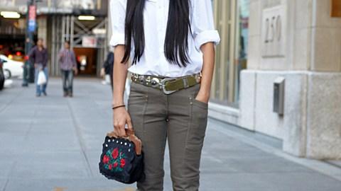 Street Style: Fashion Week 09 – Khine Hline | StyleCaster