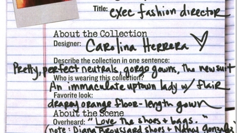 NY Fashion Week 09: Carolina Herrera | StyleCaster