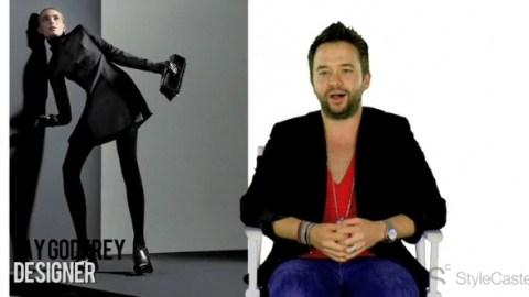 Fashion Designer Jay Godfrey   StyleCaster