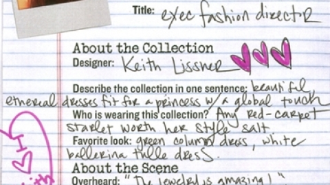 NY Fashion Week 09: Keith Lissner Spring/Summer 2010 | StyleCaster