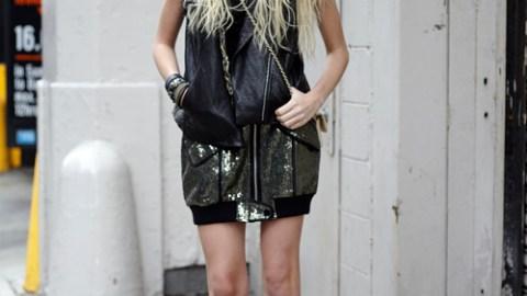 Street Style: Fashion Week 09 – Gossip Girl's Taylor Momsen | StyleCaster