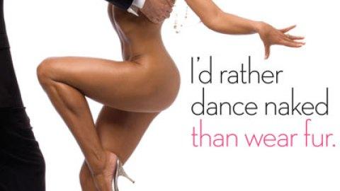 Karina Smirnoff Naked for Peta | StyleCaster