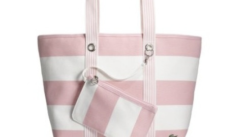 Sport Lacoste's Breast Cancer Beach Bag to Support the Cure | StyleCaster