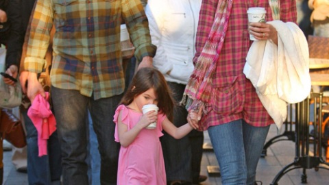 Tom Cruise, Katie Holmes, and Suri Attend Secret Scientology Event with the Travoltas | StyleCaster