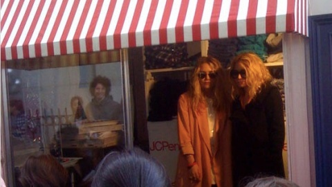 Olsen Twins Fashion: New JC Penney Line Hits the Streets in Truck | StyleCaster