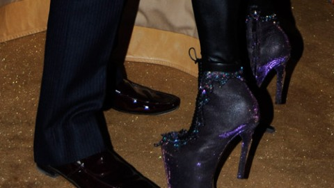 Nina Ricci Shoes on a Mystery Fashionista. Who Could it Be? | StyleCaster