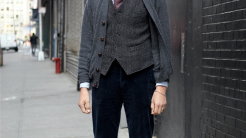 Street Style: New York – J. Daniel Elquist | StyleCaster