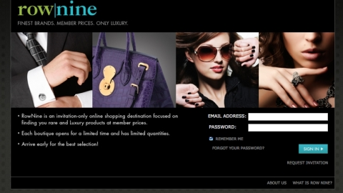 Online Sale Site Row Nine Launches | StyleCaster