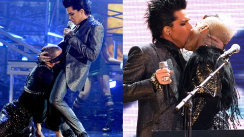 """""""For Your Entertainment,"""" Adam Lambert's AMA Performance Offends 1,500 People 