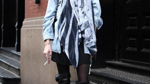 Street Style: New York – Caroline Winberg | StyleCaster