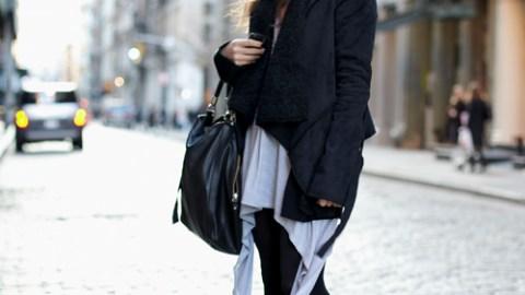 Street Style: New York – Julie Van Daele   StyleCaster
