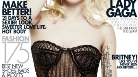 Lady Gaga Shares Elle Cover With Britney Spears – We Compare the Two   StyleCaster