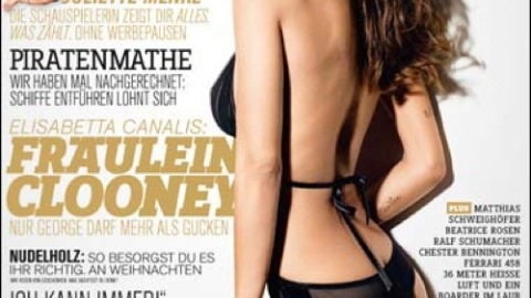 Elisabetta Canalis (A.K.A. George Clooney's Girlfriend) Poses for FHM | StyleCaster