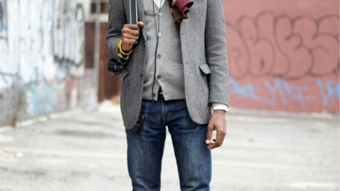 Street Style: New York – James E. Jean | StyleCaster