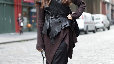 Street Style: New York – Raye Levine | StyleCaster