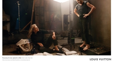 Annie Leibovitz Poses for Louis Vuitton Spring Campaign | StyleCaster