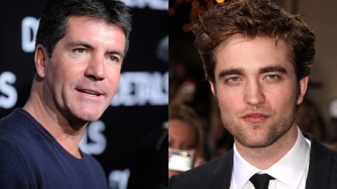 Robert Pattinson and Simon Cowell: Record Deal? | StyleCaster