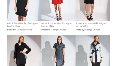 Narciso Rodriguez: eBay Shop Launching in February with Secondary Line | StyleCaster