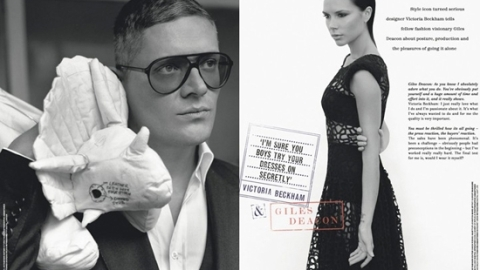 Victoria Beckham Interview: Giles Deacon Gets the Dirt | StyleCaster