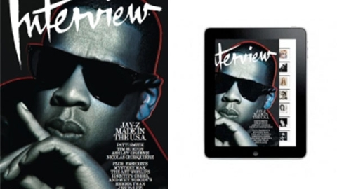 Interview Magazine Launches on iPad | StyleCaster
