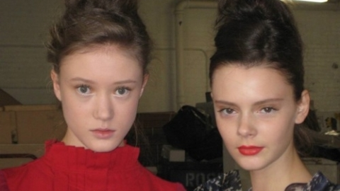 New York Fashion Week 2010: Backstage Beauty at Timo Weiland | StyleCaster