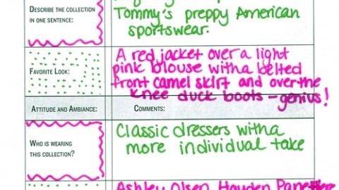 New York Fashion Week 2010 Runway Report: Tommy Hilfiger | StyleCaster