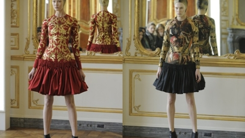 Alexander McQueen Collection: Last Looks from Late Designer Revealed | StyleCaster