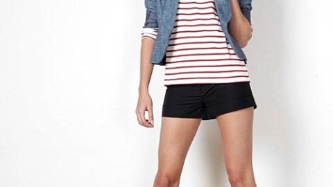 1 Piece, 5 Ways: Breton Striped Shirt | StyleCaster