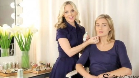 Makeup Expert Carmindy Shows Us How to Use Sally Hansen Natural Beauty Airbrush Spray Makeup | StyleCaster