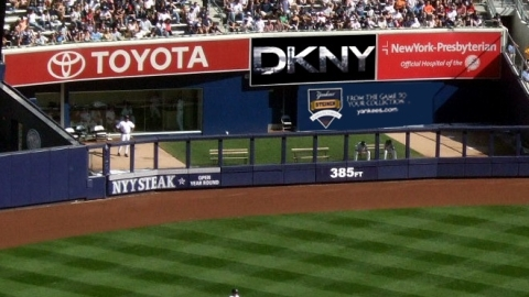 DKNY Takes on the Yankees | StyleCaster