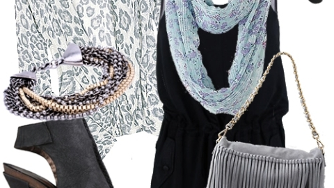 ECHO Dishes on How-To Accessorize with Scarves | StyleCaster