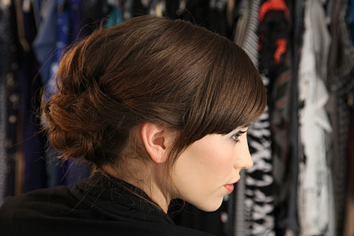 How To Get A Loose Tousled Updo For Hot Summer Nights