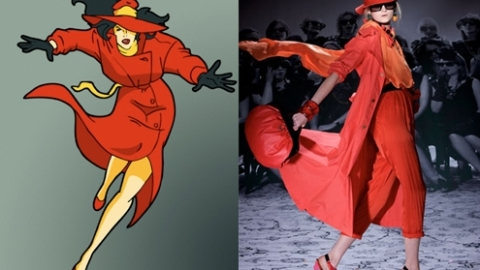Cartoon Characters and Their High-Fashioned Counterparts | StyleCaster