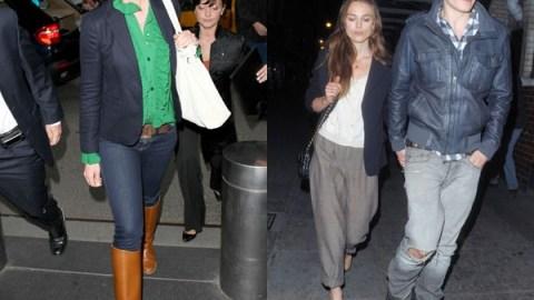 Keira Knightley v. Katherine Heigl – Who Rocked the Boyfriend Blazer Better?   StyleCaster