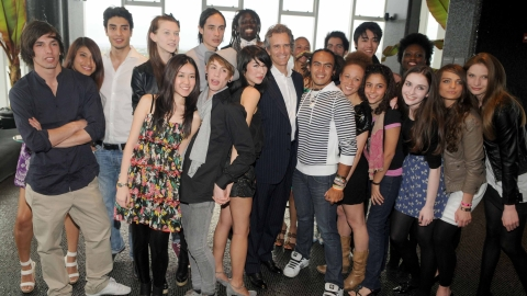 Benetton Celebrates Its Online Casting Call with a NYC Bash | StyleCaster