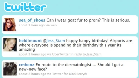 Twitter Follow Friday – StyleCaster Round-Up of the Best Style Tweets   StyleCaster