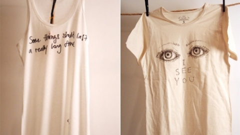 Erin Wasson And Lily Donaldson Design Tees For A Cause | StyleCaster