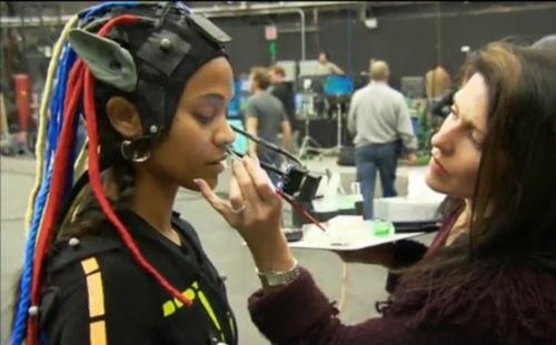Avatar Makeup Artist Tegan Taylor