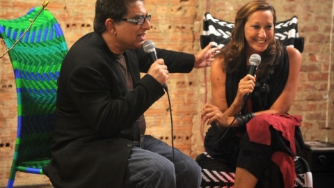 Donna Karan And Deepak Chopra Chat Design, Beauty And Social Change At ABC Carpet & Home | StyleCaster