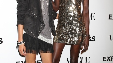 Models Galore At Express' 30th Anniversary Fete | StyleCaster