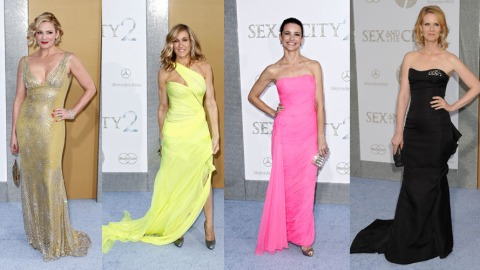 'Sex And The City 2' Ladies Face Off On The Red Carpet | StyleCaster