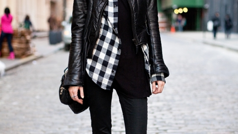 Street Style New York – IMG Model Freja Beha Erichsen, By Mr. Newton | StyleCaster